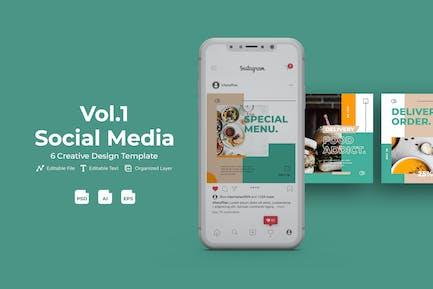 Fooddis - Social Media Kit Vol. 1