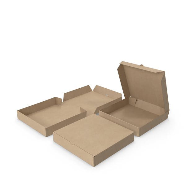 Pizza Boxes Paper 8 inch