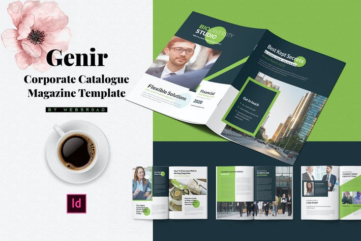 Thumbnail for Genir | Corporate Catalogue Magazine Template