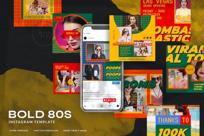Thumbnail for Bold80 Instagram Stories 80's Retro Mode