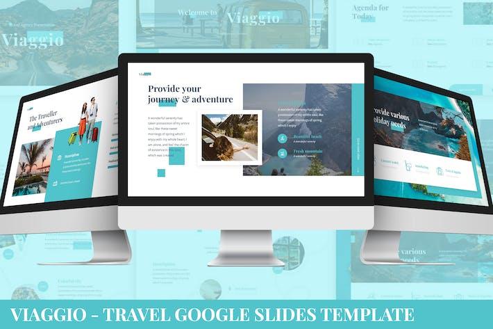 Thumbnail for Viaggio - Travel Google Slides Template