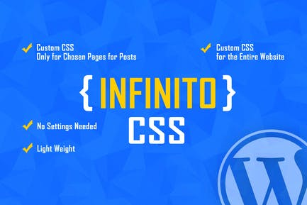 INFINITO - Custom CSS for Chosen Pages and Posts