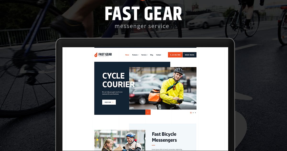 Download Fast Gear by ThemeREX