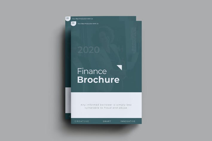 Thumbnail for Finance Brochure Template