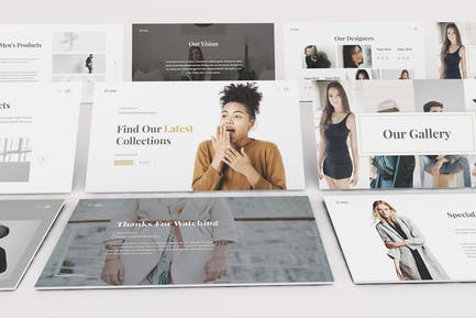 Boutique Keynote Template