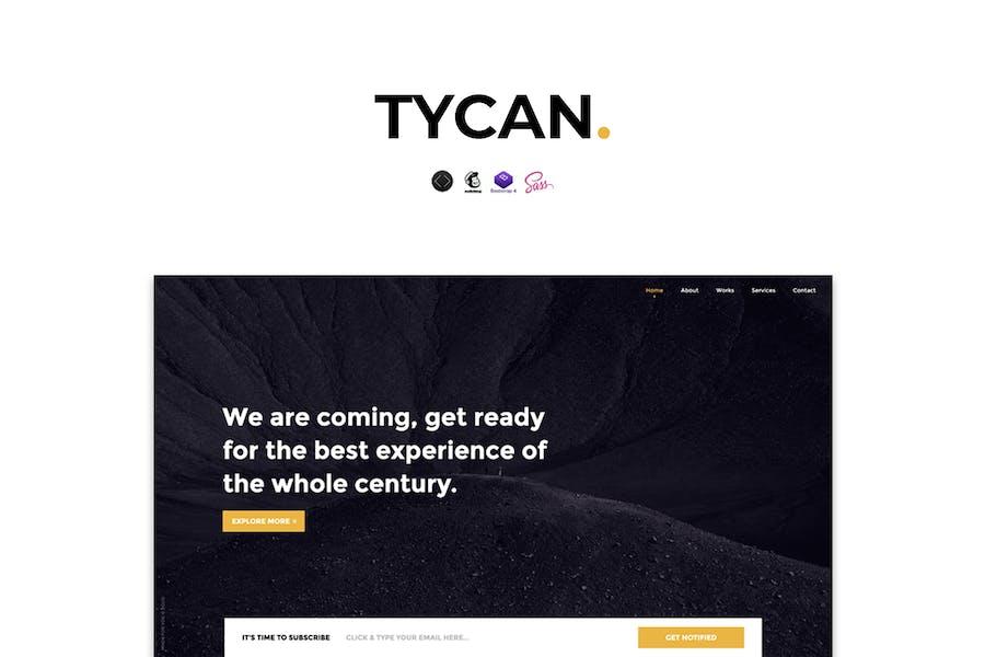 TYCAN - Zeitlos bald Vorlage