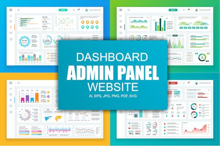 Thumbnail for Dashboard Admin Panel Template