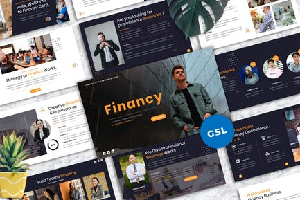Financy - Creative Googleslide Template