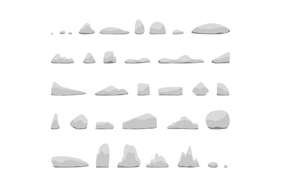 Various rocks collections - product preview 0