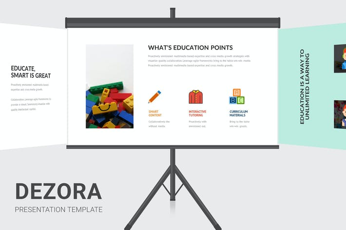 Thumbnail for Dezora - Primary School Education Keynote