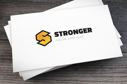 Stronger Letter S Logovorlage
