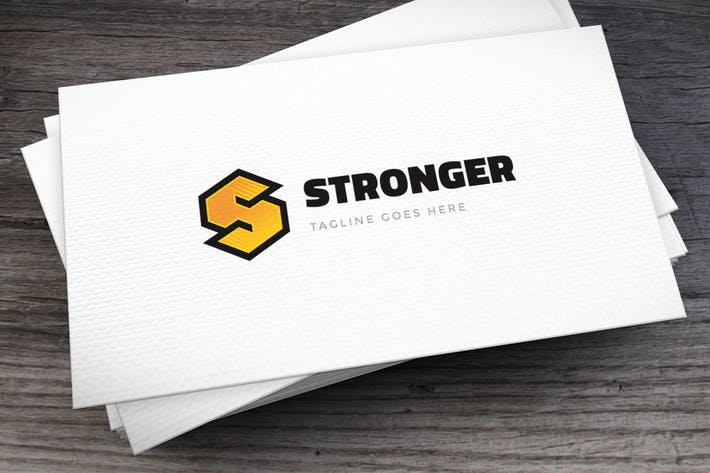 Thumbnail for Stronger Letter S Logo Template