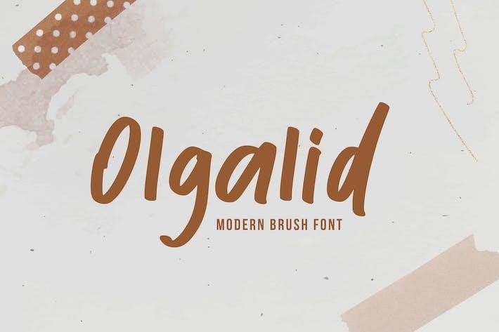 Thumbnail for Olgalid Font