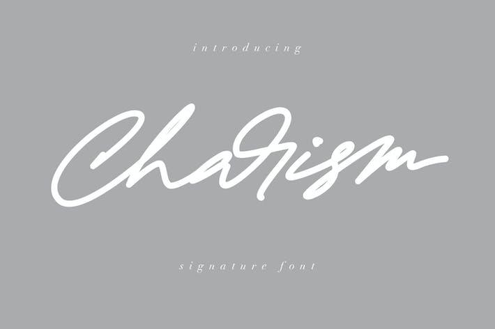 Thumbnail for Fuente de la firma del carisma