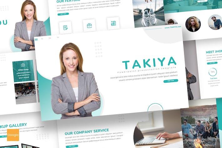 Thumbnail for Takiya - Business Google Slides Template