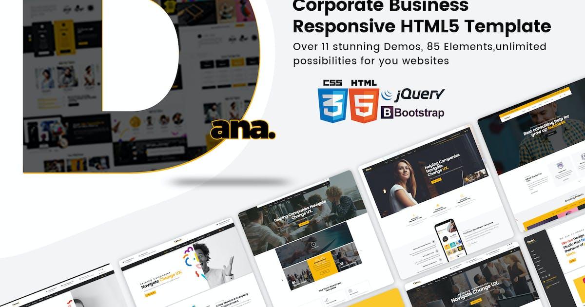 Download Dana -  Multi-Purpose Responsive HTML5 Template by mexopixel