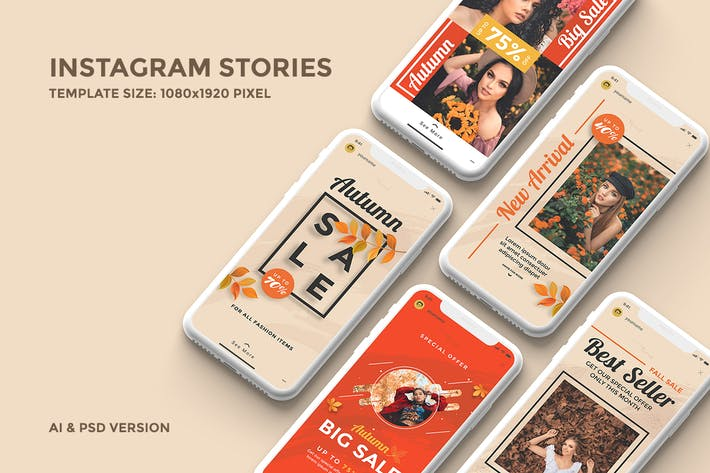Cover Image For Instagram Stories Template