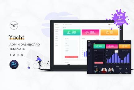 Yacht Admin Dashboard UI Kit