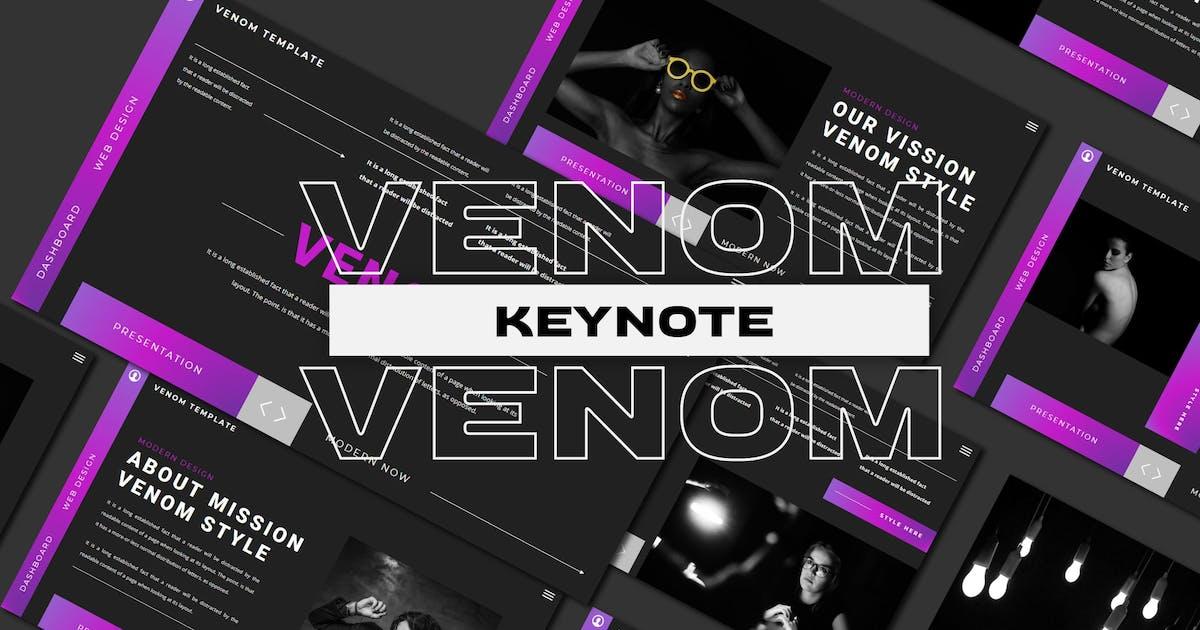 Download Venom - Keynote Template by axelartstudio