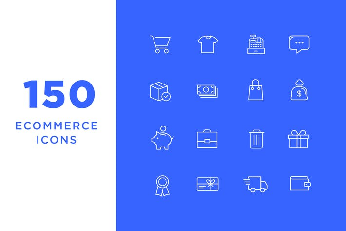 Thumbnail for Ecommerce Icons