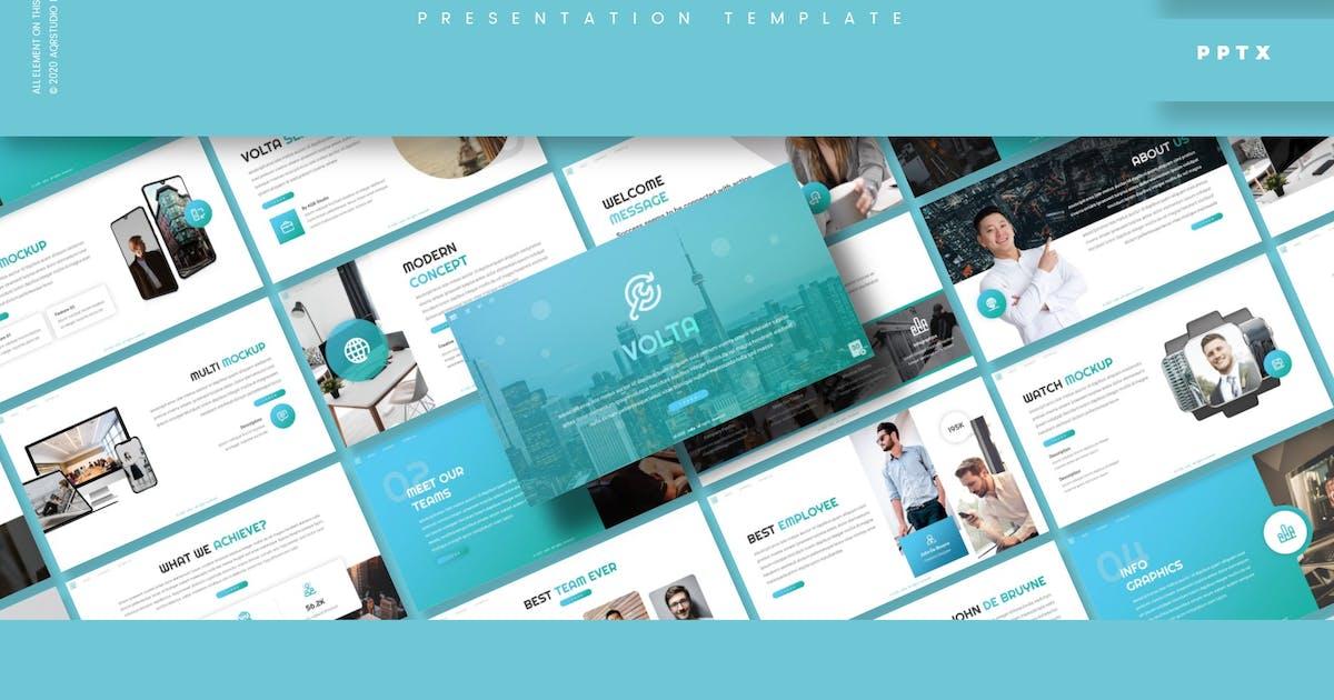 Download Volta - Presentation Template by aqrstudio