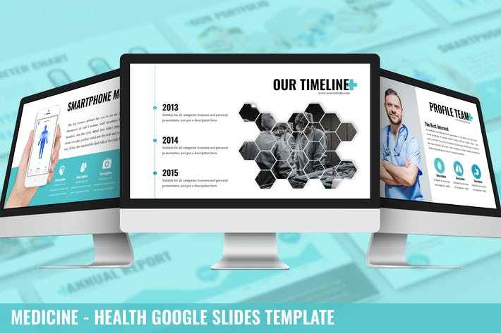 Thumbnail for Medicine - Health Google Slides Template