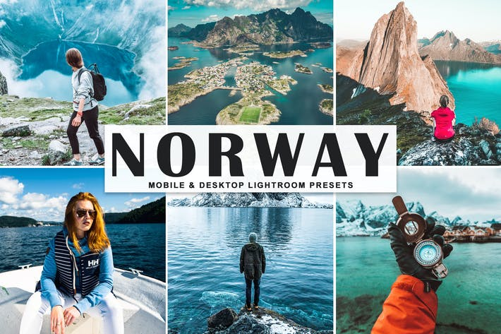Thumbnail for Norway Mobile & Desktop Lightroom Presets