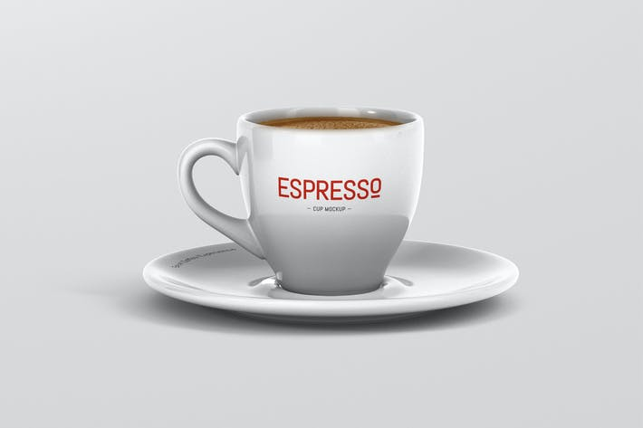 Thumbnail for Espresso Cup Mockup