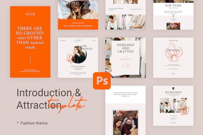 Thumbnail for Introduction - Modèles Instagram pour la mode
