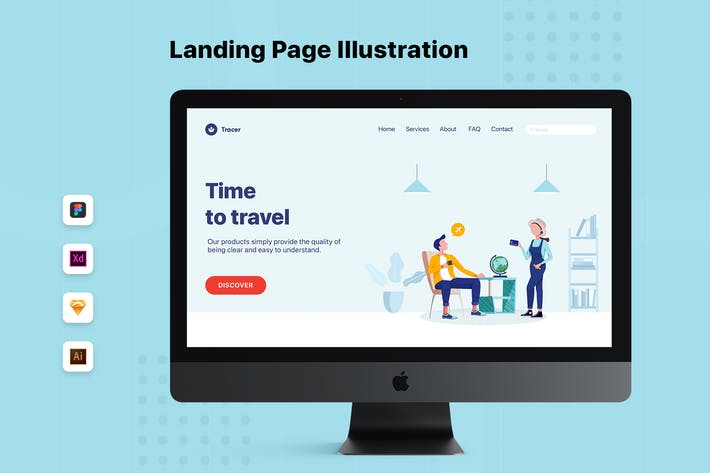 Thumbnail for Colleagues Talking About Travelling Web Banner