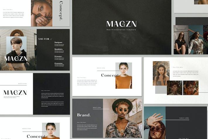 Thumbnail for MAGZ - Lookbook Fashion Powerpoint Creative Agency