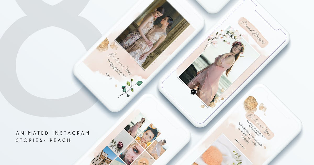 Download 8 Animated Instagram Stories - B by Squirrel92