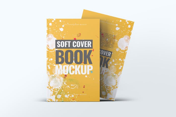 Thumbnail for Soft Cover Book Mock-Up