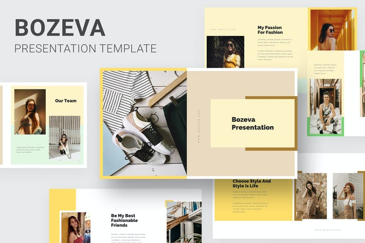 Thumbnail for Bozeva - Lifestyle Look Book Powerpoint