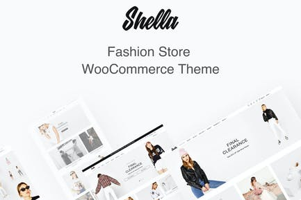 Shella Fashion Store WooCommerce Theme