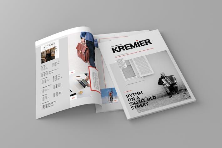 Thumbnail for Kremier - Magazine Template