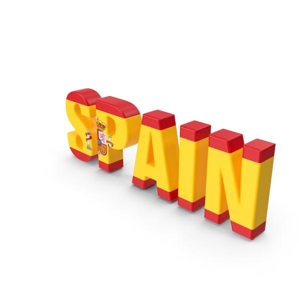 Spanien Text