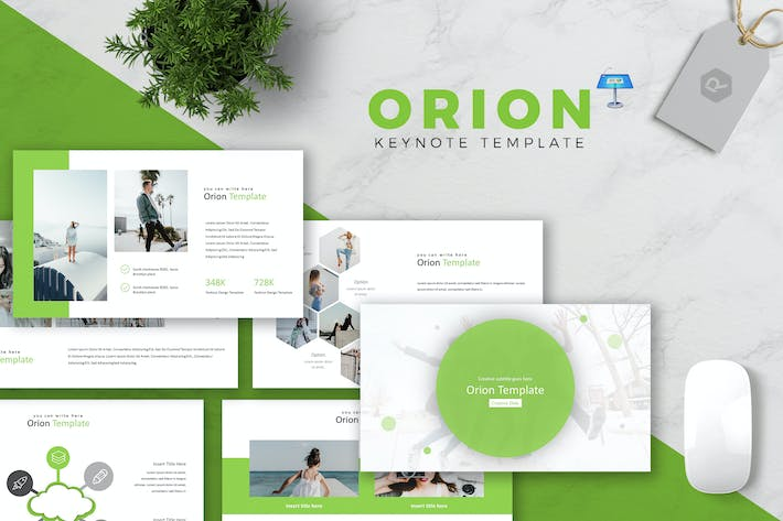 Thumbnail for Orion - Keynote Template