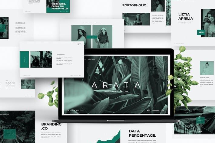 Thumbnail for Arata Creative Keynote