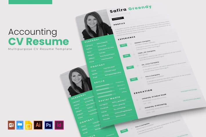 Thumbnail for Accounting | CV & Resume