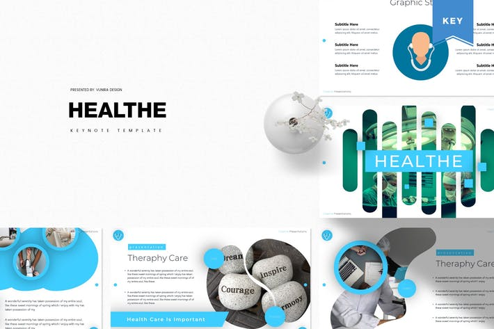Thumbnail for Heala | Шаблон Keynote