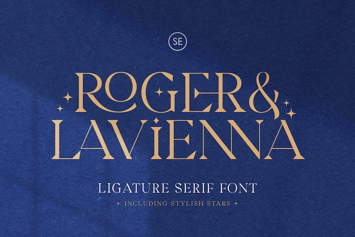 Thumbnail for Roger & Lavienna - Ligature Serif