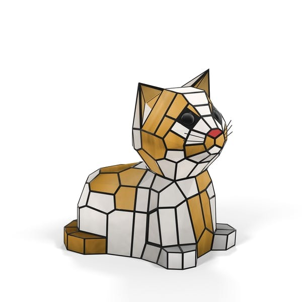Thumbnail for Kitten Animal Lamp