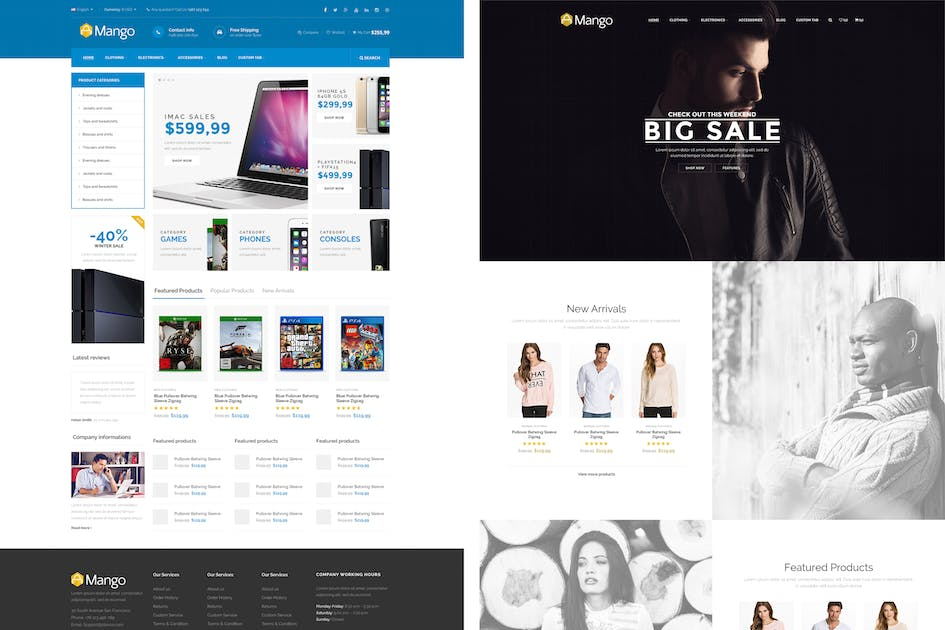 Download Mango - Responsive Magento Theme by p-themes