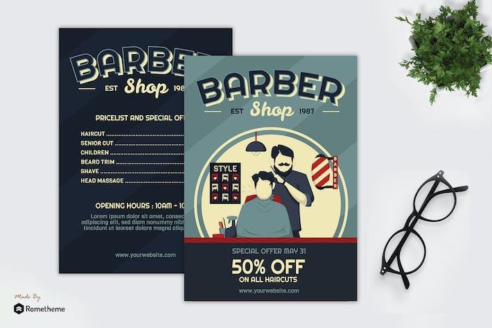 Thumbnail for Friseur Shop - Creative Flyer GR