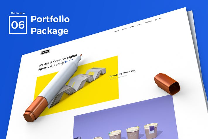 Thumbnail for Web Portfolio Vol 06