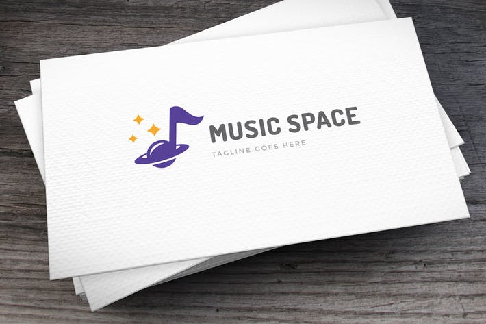Thumbnail for Music Space Logo Template