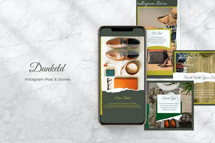 Dunkeld Instagram Post & Stories