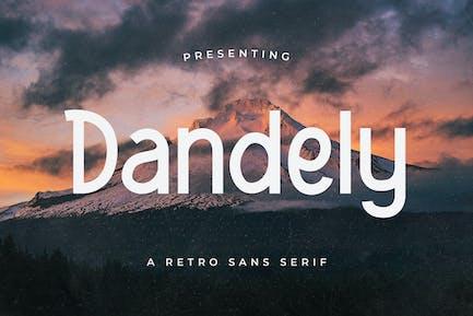 Dandely – Retro Sans Serif