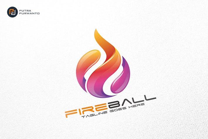 Thumbnail for Fireball / Fire / Logo Template